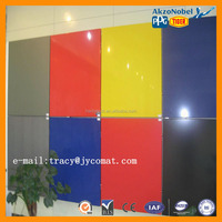 Haida brand 3mm to 6mm 0.15mm/0.20mm high light aluminum composite panels manufacturer in CHINA