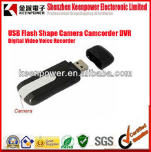 USB Flash Shape Camera Camcorder DVR Digital Video Voice Recorder with Micro SD Slot