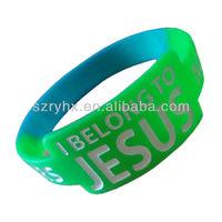 Popular debossed plastic hand band