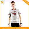 OEM Printing 100% Cotton Newest Men Round Neck T-Shirt Design