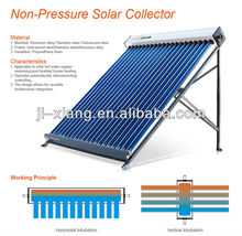 Non Pressure Bearing Solar Water Heater building materials,Unpressurized Bearing Type With Split Water Tank,Solar Energy product