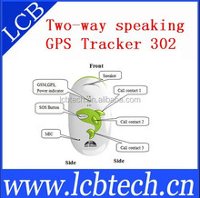 Mobile phone Anti-lost Kids GPS tracker GPS 302 personal GPS tracking device