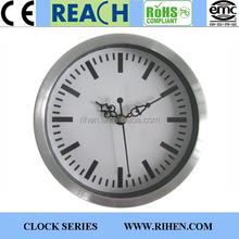6 inch Customized Aluminium Wall Clocks with