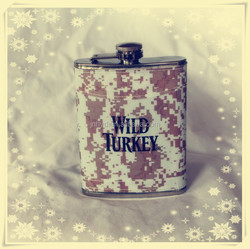 New style stainless steel hip flask with PU leather