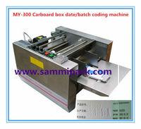 MY-300 Carton box batch number date printing machine, Date inkjet printer Model Machine