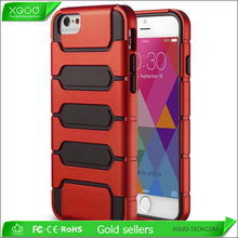2015New arrival weill protect silicone+pc tank case for iphone 6 ,for iphone 6 tank case