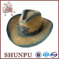 advanced american adult straw cowboy hats drinking hat with straw