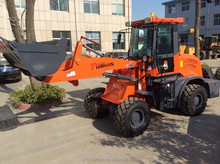 telescopic articulated compact tractor with hydraulic wheel motor made in China