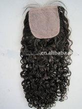 factory stock cheap 100% 4*4 peruvian huan hair lace closures
