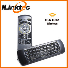 ILINKTEC 2.4g wireless mini keyboard + air mouse + IR learning remote for smart TV