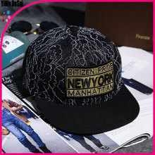 Hip hop dance hat lace baseball cap Flat hat
