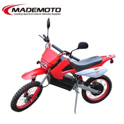 Chinese New Model Hot-selling Popular Gas Powered Electric Dirt Bike 60V