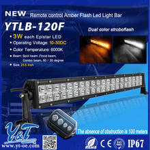 Long Distance Driving flash light bars with angel eyes high lumen led flood light 120w Waterproof IP67 12/24V 120w lighting