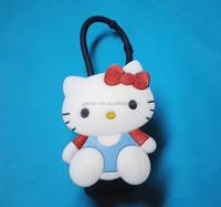 Bath & body works KEYCHAIN Hello Kitty Silicone SANITIZER holder 30ml cartoon hand sanitizer holder