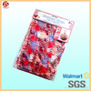 Valentine basket bag decoration wholesale polypropylene valentine's basket bags