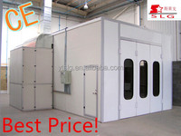 Best price CE approved automotive painting room/ spray paint booth/ portable auto paint booth