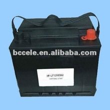Maintenance free automotive battery 12v 60ah