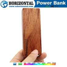 Best Promotional Gifts Nature wood power bank for smart phone Environmental power bank 5000mah, wood carved available power bank
