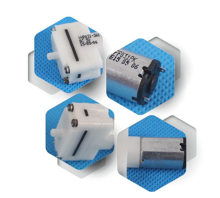 Rotary Vane Vacuum Pump Pump For Gas Detector Electric
