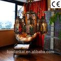 Nuevo material vintage para decoración lámpara colgante interior