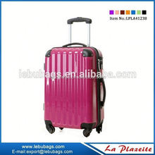 Well promotion electric luggage trolley, stock offer uggage trolley bags