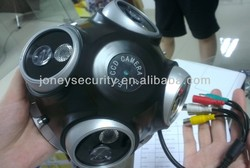 Sony CCD 600tvl 4 Camera in One Bracket 360 Degree Dome Camera