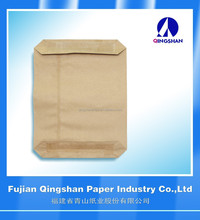 Factory cement kraft paper sack Rice Mortar Bag Block Bottom Chemical
