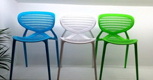 Colored plastic chairs,coffee shop chair ,coffee shop tables and chairs