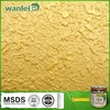 Noble and luxurious decoration golden yellow color paint