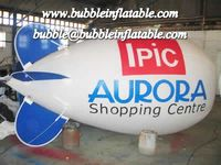 large pvc helium inflatable blimp/advertising balloon for custom