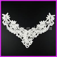 Fashion ladies suit neck design lace WNL184