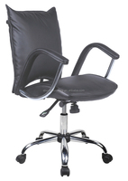 new modern special design steel luxury leather swivel executive office chair with back cushion leather armrest cover