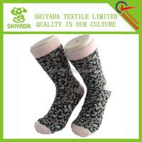 custom design fuzzy adult anti slip sock