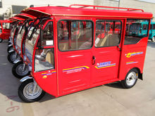 three wheel enclosed electric tricyle for passenger