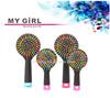 2015 My girl High quality mens plastic hair brushes plastic bristle hair brush