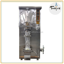 Automatic liquid milk packing machine with printing