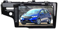 """9"""" car DVD GPS player for Honda FIT 2014, with TV,radio, bluetooth, 3G WCDMA"""