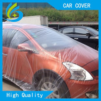 Peva flood disposable plastic tarpaulin automatic car cover