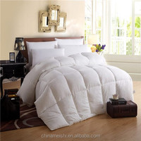 Chinese OEM luxury goose down duvet or quilt or comforter for star hotel or home