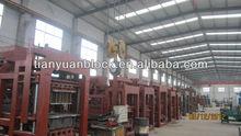 qtj40b2 material de construcción de maquinaria de ladrillo de la máquina del bloque
