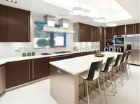 best-selling pure white crystal glass countertop kitchen
