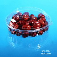 Chinese manufacturing plastic fruit salad food packaging box
