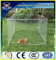 2015 the most popular design chain link fence for dog cages / used chain link fence for sale made in china