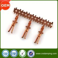 High quality copper connector terminal,2.54mm pitch connector terminal,crimp connector wire harness terminal