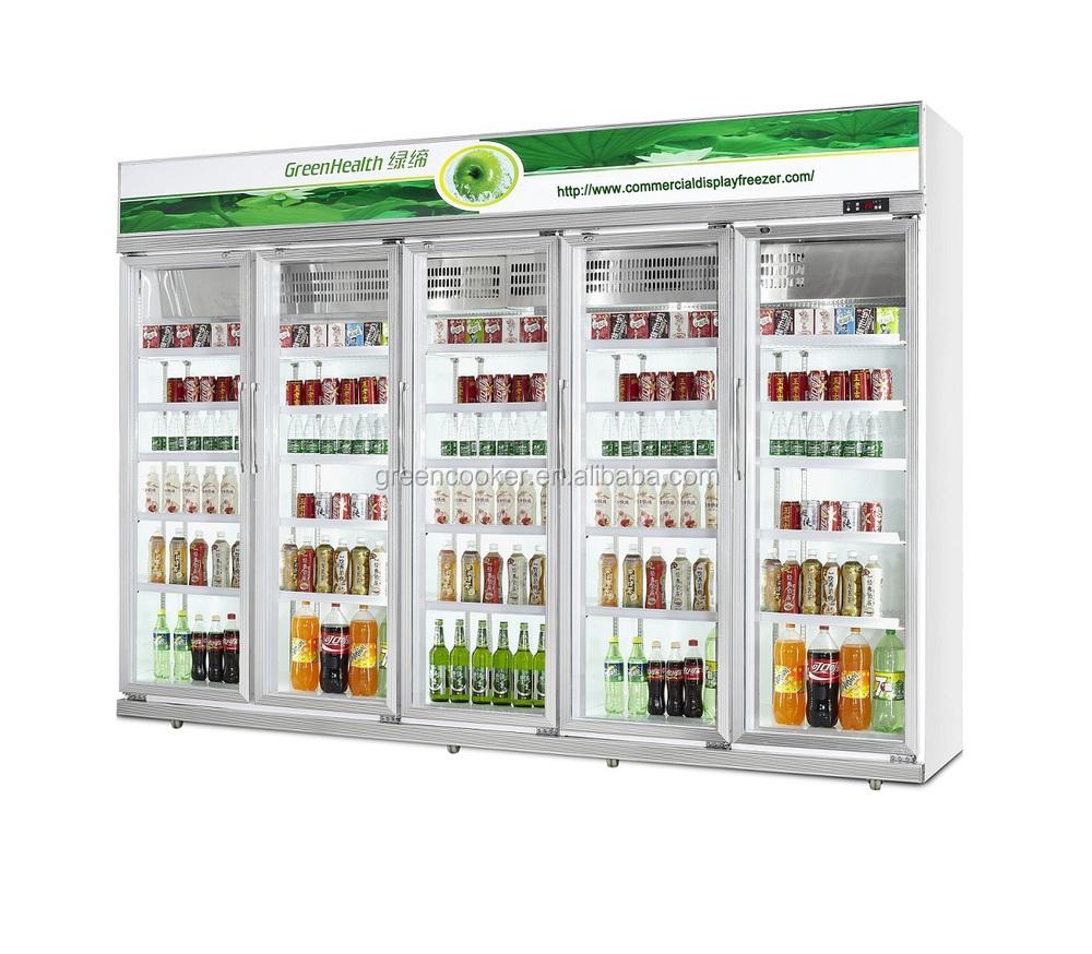 Medicine Single Glass Door Verticalupright Display Refrigerators