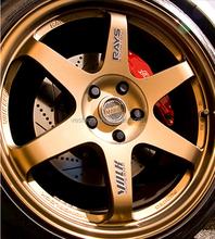 Car alloy wheel rim with pcd 98,108,100,112,114.3,120