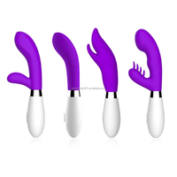 Newest Green Baby Silicone Vibrators