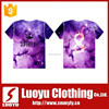 3d custom printing plain t shirt manufacturer