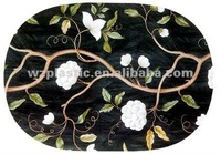 oval pp placemat for promotional