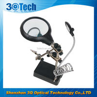DH-86010 large glass desk lamp magnifying glass welding magnifying lens